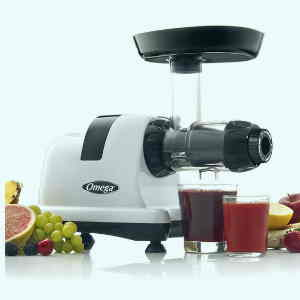 Omega J8006HDS Nutrition Center Slow Speed Masticating Juicer
